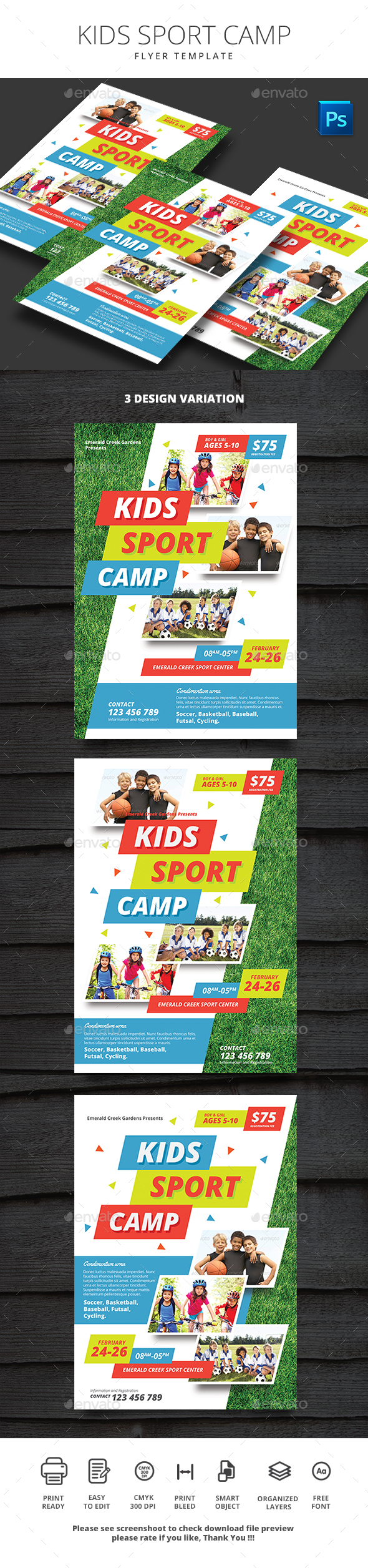 Kids Sport Camp - Sports Events