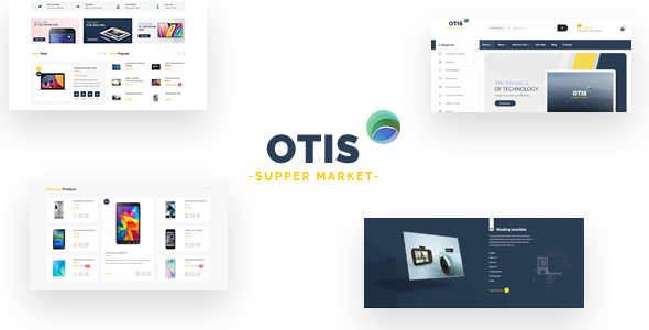 Ap Otis Shopify Theme - Technology Shopify