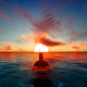Man Floating in the Sea - VideoHive Item for Sale