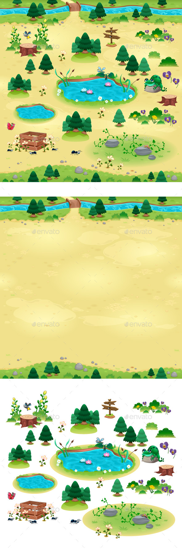 Natural Items for Games and App - Miscellaneous Game Assets