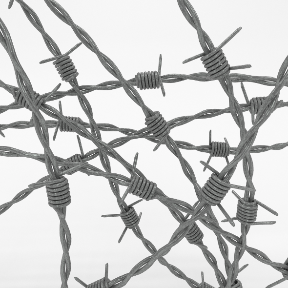 Barb Wire - 3DOcean Item for Sale