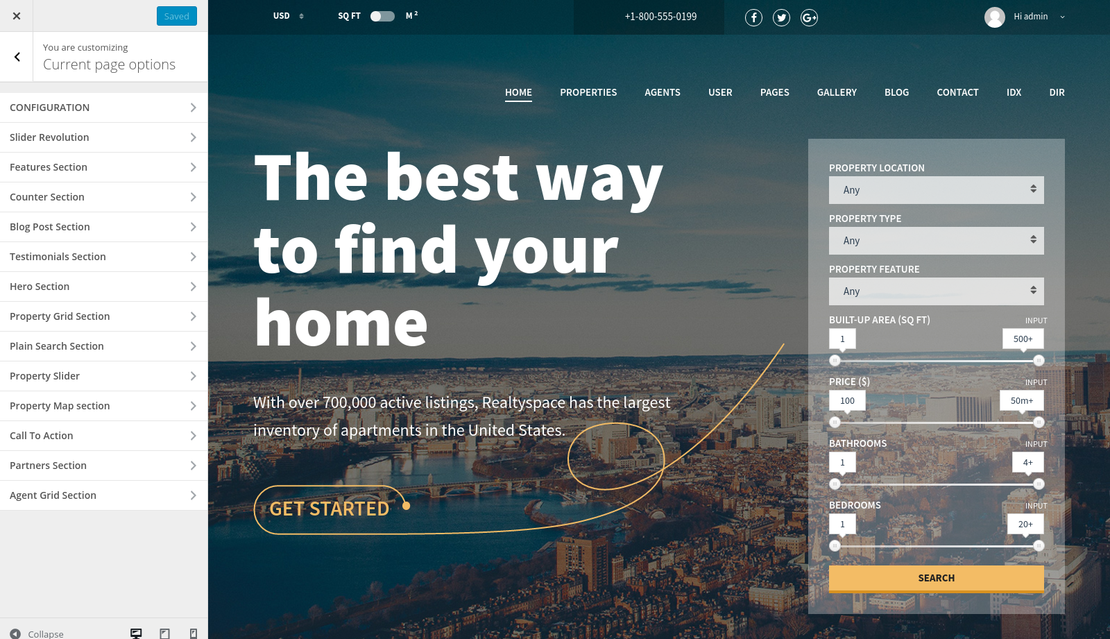 Realtyspace - Real estate WordPress Theme by codefactory47 | ThemeForest