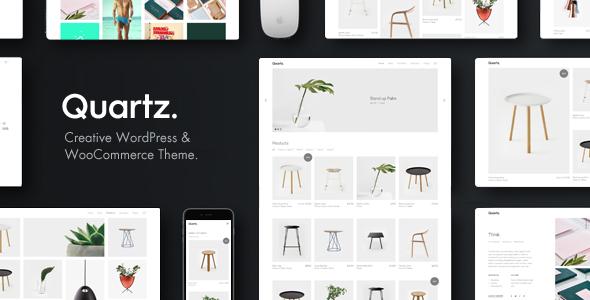 Quartz – Creative WooCommerce & WordPress Theme