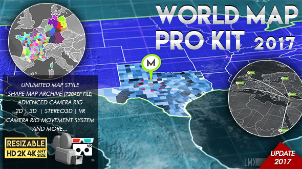 World map pro kit by limxona videohive play preview video gumiabroncs Gallery