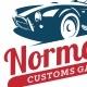 Customs Garage Badges - GraphicRiver Item for Sale