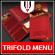 Restaurant Trifold Menu / Flyer - GraphicRiver Item for Sale