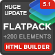 FLATPACK – Landing Pages Pack With Page Builder - ThemeForest Item for Sale