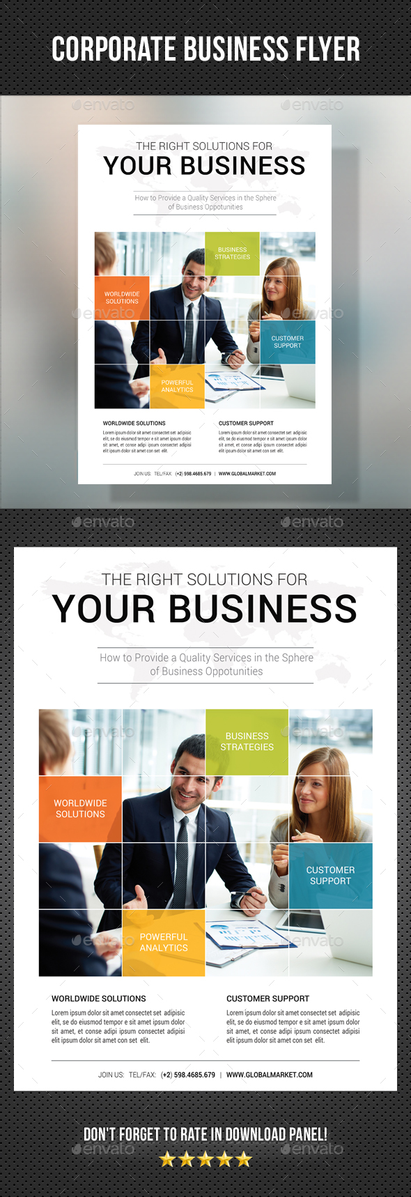 Corporate Business Flyer 18 - Corporate Flyers
