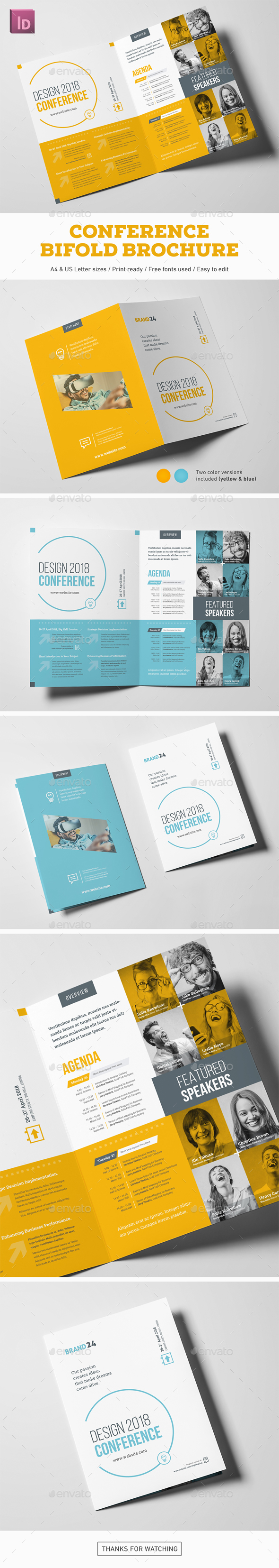 Conference Bifold Brochure - Corporate Brochures