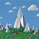 Low Poly Land - 3DOcean Item for Sale