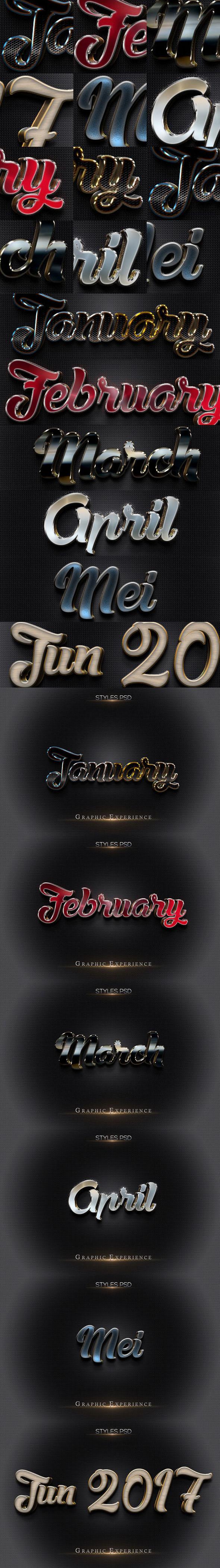3D Text Effect MockUp 2B_170217 - Styles Photoshop