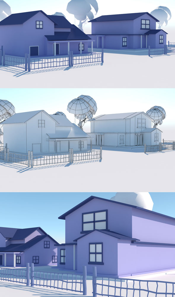 House Vol 2 - 3DOcean Item for Sale