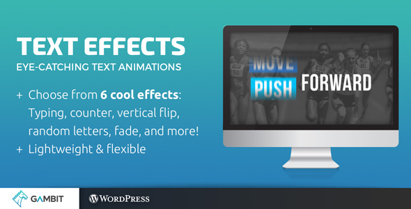 Download Animated Text Effects for Visual Composer nulled version
