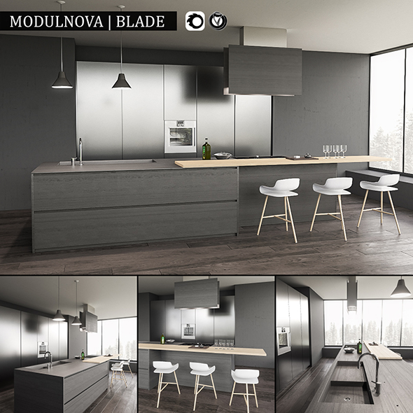 Kitchen Blade - 3DOcean Item for Sale