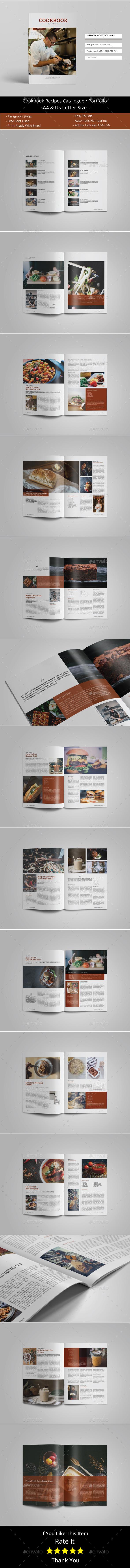 Cookbook Recipes Catalogue / Brochure - Catalogs Brochures