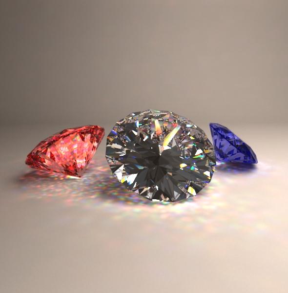 3d Diamond - 3DOcean Item for Sale