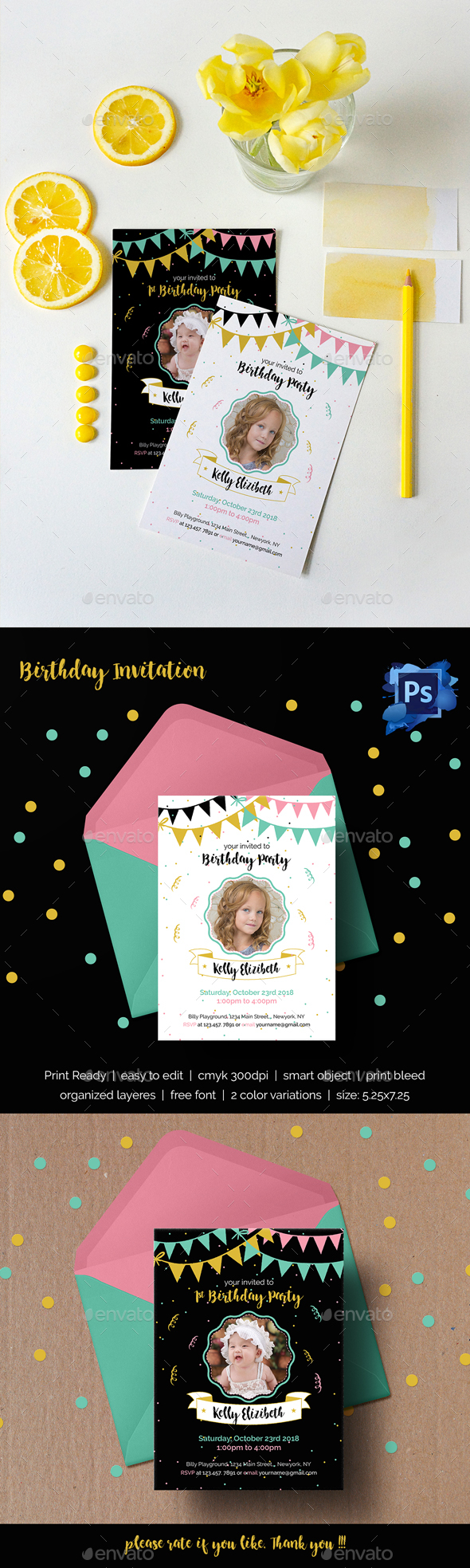 Birthday Invitation - Invitations Cards & Invites