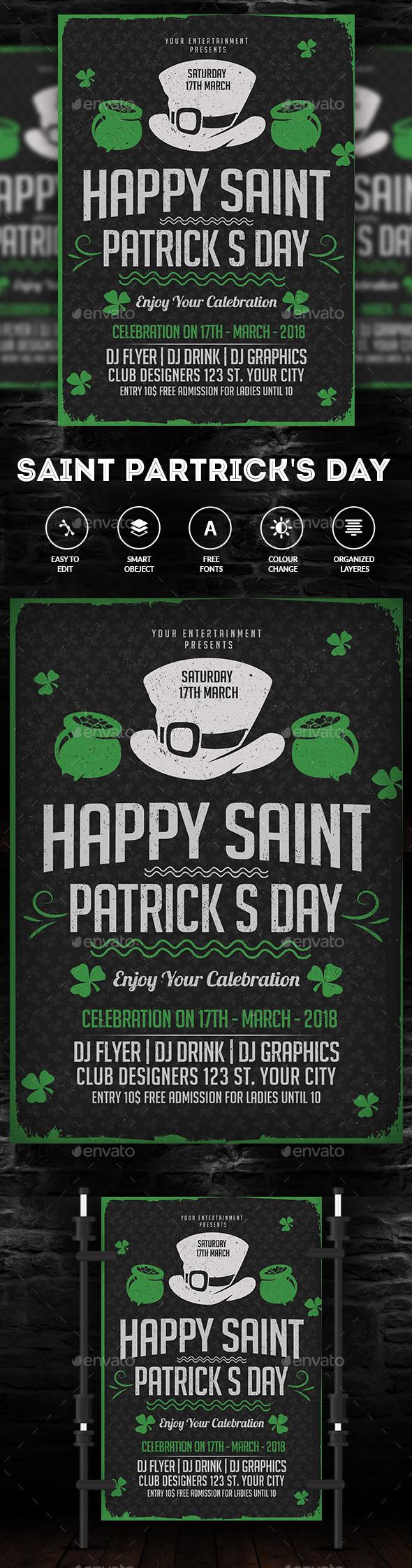 St Patrick Day Flyer - Events Flyers