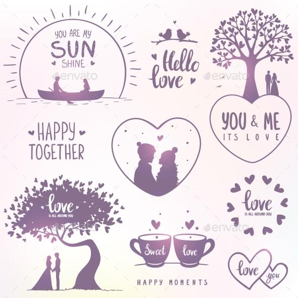 Love Set - Valentines Seasons/Holidays