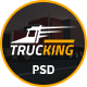 Trucking - Logistics and Transportation PSD Template Nulled