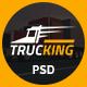Trucking - Logistics and Transportation PSD Template
