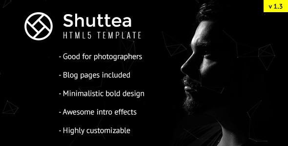 Shuttea - Portfolio/Blog Template for Photographers