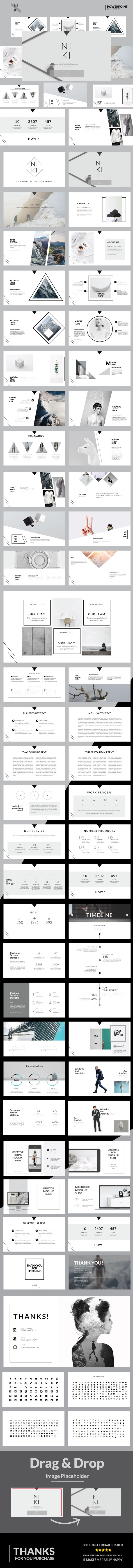 Niki Keynote Presentation Templates - Business Keynote Templates