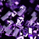 Glass Particles in Spiral Motion - VideoHive Item for Sale
