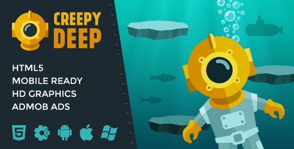 Creepy Deep - Infinite Jumping Game - CodeCanyon Item for Sale