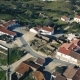 Aerial View Red Tiled Roofs Typical Village - VideoHive Item for Sale