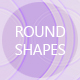 Round Shapes Backgrounds - GraphicRiver Item for Sale