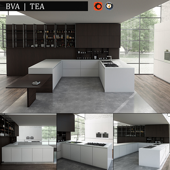 Kitchen BVA TEA - 3DOcean Item for Sale