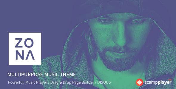 Zona – Multipurpose Music Theme