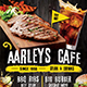 Cafe Menu Flyer - GraphicRiver Item for Sale
