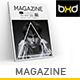 Magazine Template - InDesign 40 Page Layout V10 - GraphicRiver Item for Sale