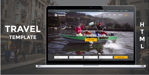 Travel HTML - Tour & Travel HTML Template for Travel Agency and Tour Operator - Travel Retail