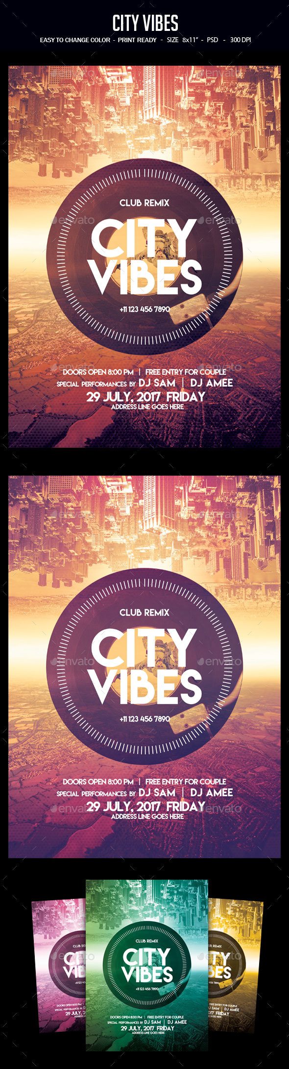 City Vibes - Clubs & Parties Events