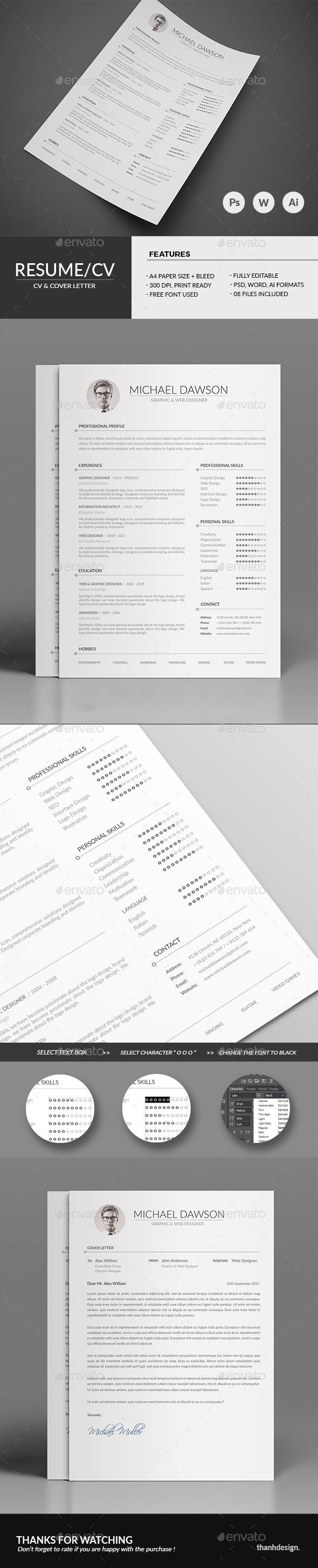 Resume CV & Cover Letter