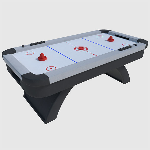 Air Hockey - Game Ready - 3DOcean Item for Sale
