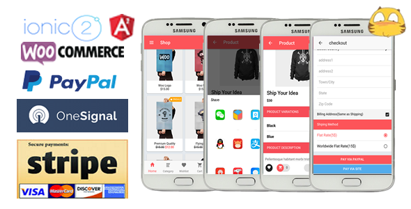 Ionic3WooStore-ionic 3 App for WooCommerce - CodeCanyon Item for Sale