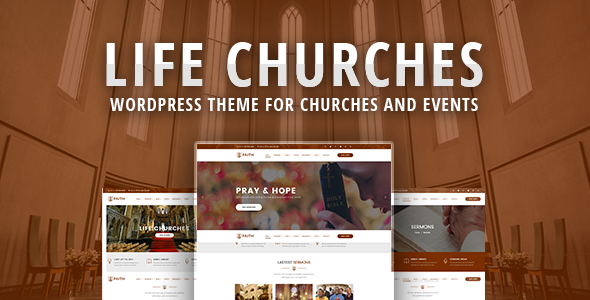 Image of Life Churches - WordPress Theme for Churches and Events
