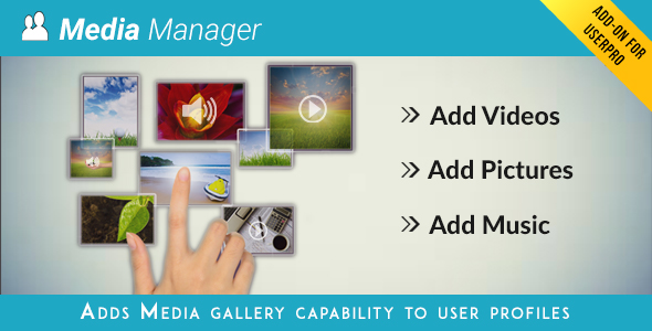 Media Manager for UserPro - CodeCanyon Item for Sale