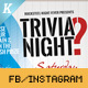 Trivia Night Social Media Pack - GraphicRiver Item for Sale