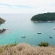 Panoramic View of Beautiful Tropical Island