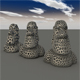 Moai Voronoi - 3DOcean Item for Sale