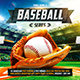 Baseball League Series Flyer vol.3 - GraphicRiver Item for Sale