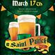 Saint Patricks Day Flyer Template V5 - GraphicRiver Item for Sale