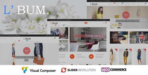 L'bum – Responsive WooCommerce Theme
