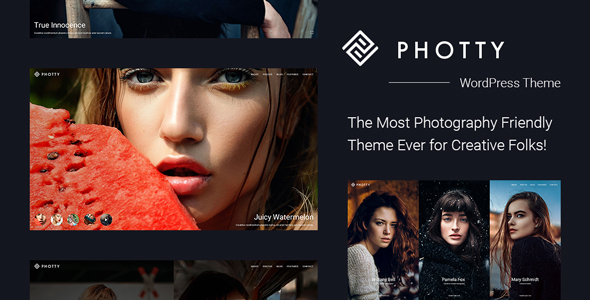 Photty – Photo Gallery & Photoblog WordPress Theme