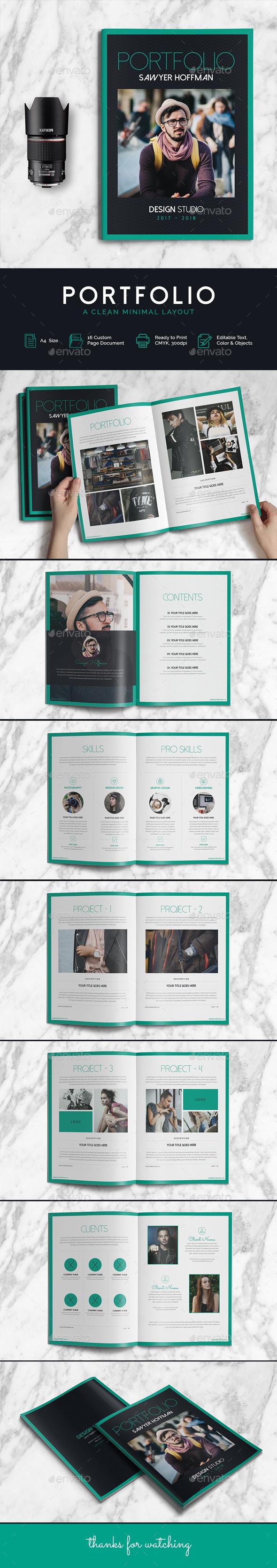 Portfolio - Print Templates